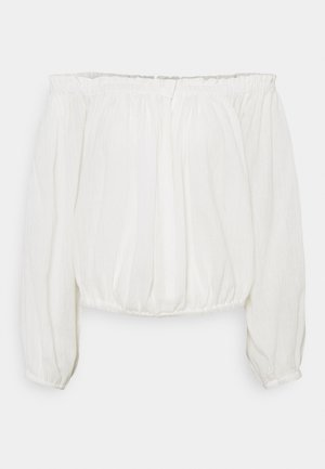 MIMI - Long sleeved top - white