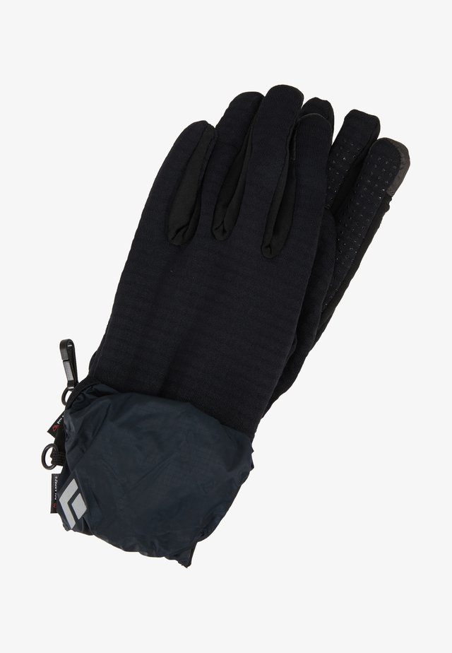WIND HOOD GRIDTECH GLOVES - Sormikkaat - black