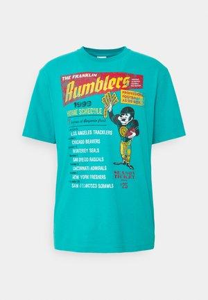 T-shirt med print - water green