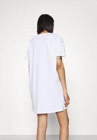 Alpha Industries - BASIC LONG - Jersey dress - white - 2