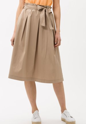 STYLE KLARA - A-line skirt - toffee