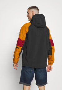Tommy Jeans - MIX FABRIC ZIPTHROUGH - Kurtka wiosenna - black/multi - 2