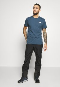 The North Face - MENS SIMPLE DOME TEE - T-shirt basic - blue wing teal - 1