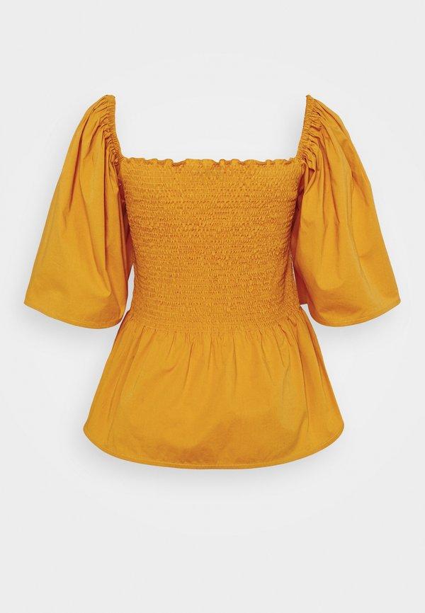Stella Nova Bluzka - golden yellow/jasnobrązowy BJDQ