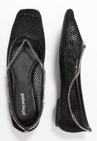 Jeffrey Campbell - GERALDINE - Ballet pumps - black/silver - 1