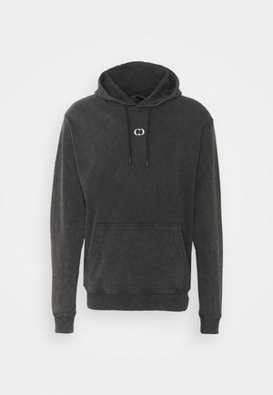 GALAXY HOOD UNISEX - veste en sweat zippée - washed black