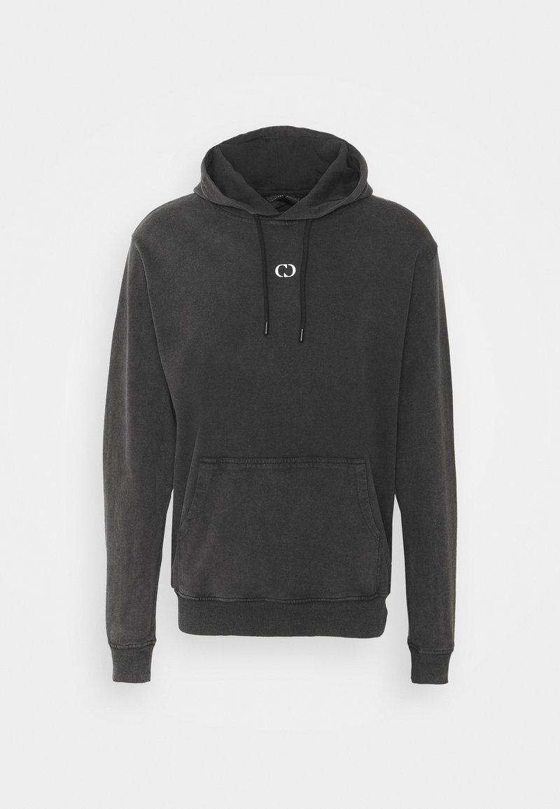 Criminal Damage - GALAXY HOOD UNISEX - Zip-up hoodie - washed black
