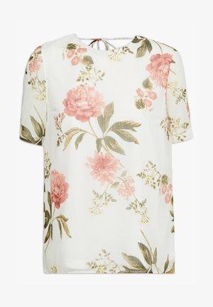 VMLUCCA - Print T-shirt - beige