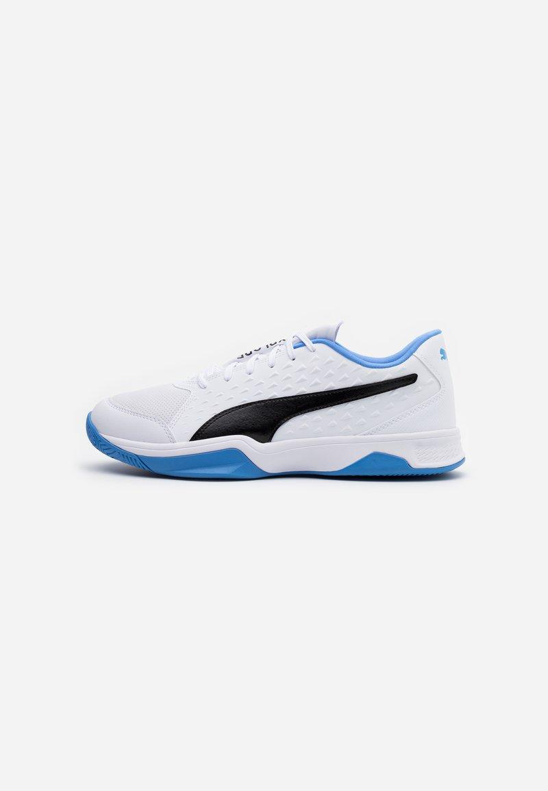 Puma - EXPLODE 2 - Håndboldsko - white/black/blue glimmer