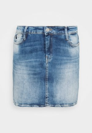 BAKI - Mini skirt - blue