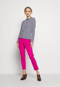 Polo Ralph Lauren - Long sleeved top - dark blue/white - 1