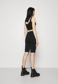 Weekday - MAURICE BIKER - Shorts - black - 2