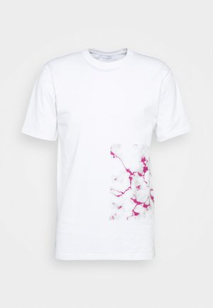 BARCODE - T-shirt print - white