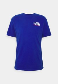The North Face - KARAKORAM GRAPHIC TEE - Print T-shirt - blue - 1