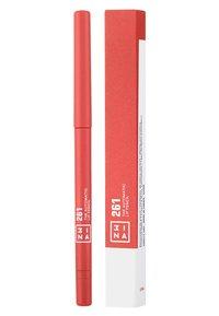 3ina - THE AUTOMATIC LIP PENCIL - Lip liner - 261 brown - 1
