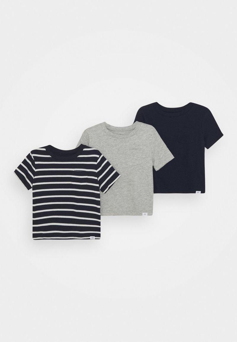 GAP - TODDLER BOY 3 PACK - Print T-shirt - blue/galaxy