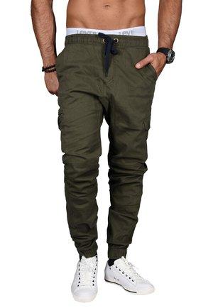 DESIGNER - Cargo trousers - grün