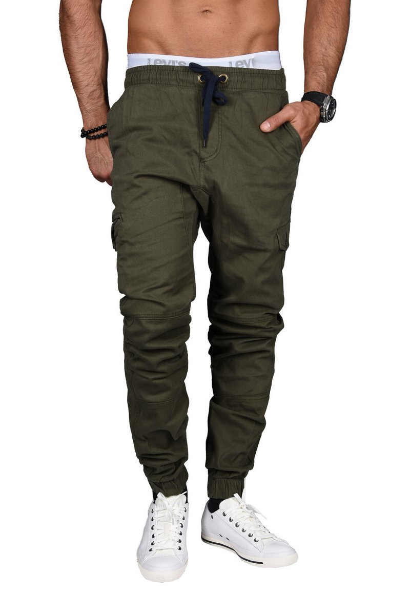 Alessandro Salvarini - DESIGNER - Cargo trousers - grün