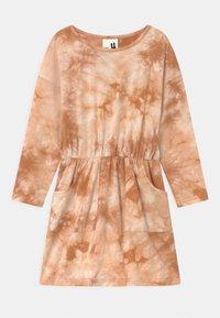Cotton On - SIGRID LONG SLEEVE 2 PACK - Jersey dress - purple paradise/roasted almond - 1