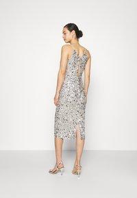 Lace & Beads - MARITA MIDI - Cocktail dress / Party dress - grey - 2