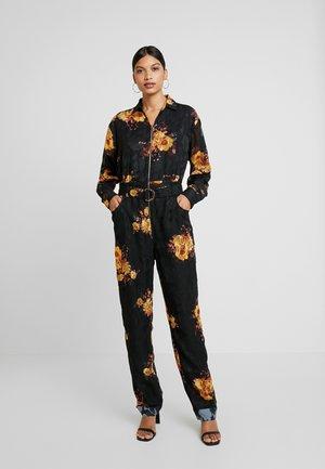 IBIZA BOILERSUIT - Tuta jumpsuit - noir