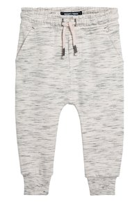 Next - NATURAL/GREY/BLUE 3 PACK TEXTURED JOGGERS (3MTHS-7YRS) - Tracksuit bottoms - blue - 2