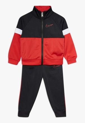 COLOR BLOCK TRICOT BABY SET - Zip-up hoodie - black