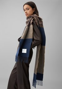 Marc O'Polo - AUS RECYCELTER WOLLE - Scarf - multi - 0
