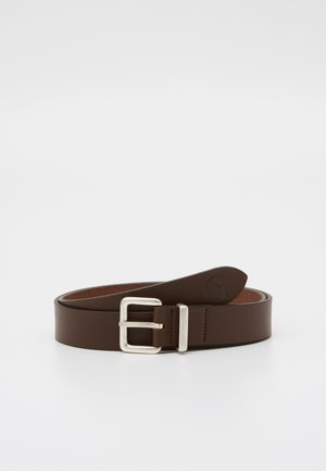 LOGO BELT - Pásek - dark brown