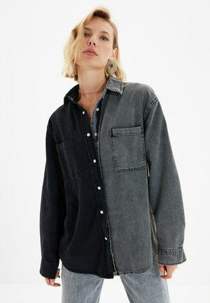 PARENT - Button-down blouse - black
