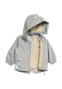 Wheat - Waterproof jacket - dove melange - 2
