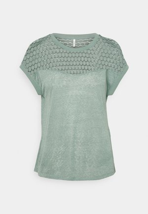 ONLNEW MIX - Camiseta estampada - chinois green