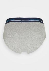 Calvin Klein Underwear - HIP BRIEF 3 PACK - Briefs - blue - 2