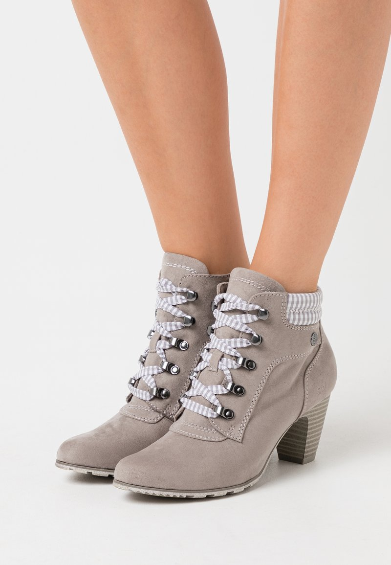 s.Oliver - Ankle boots - grey