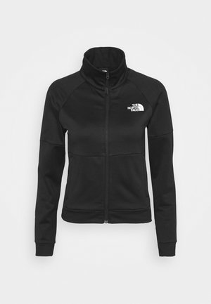 FULL ZIP JACKET - Fleecejacke - black