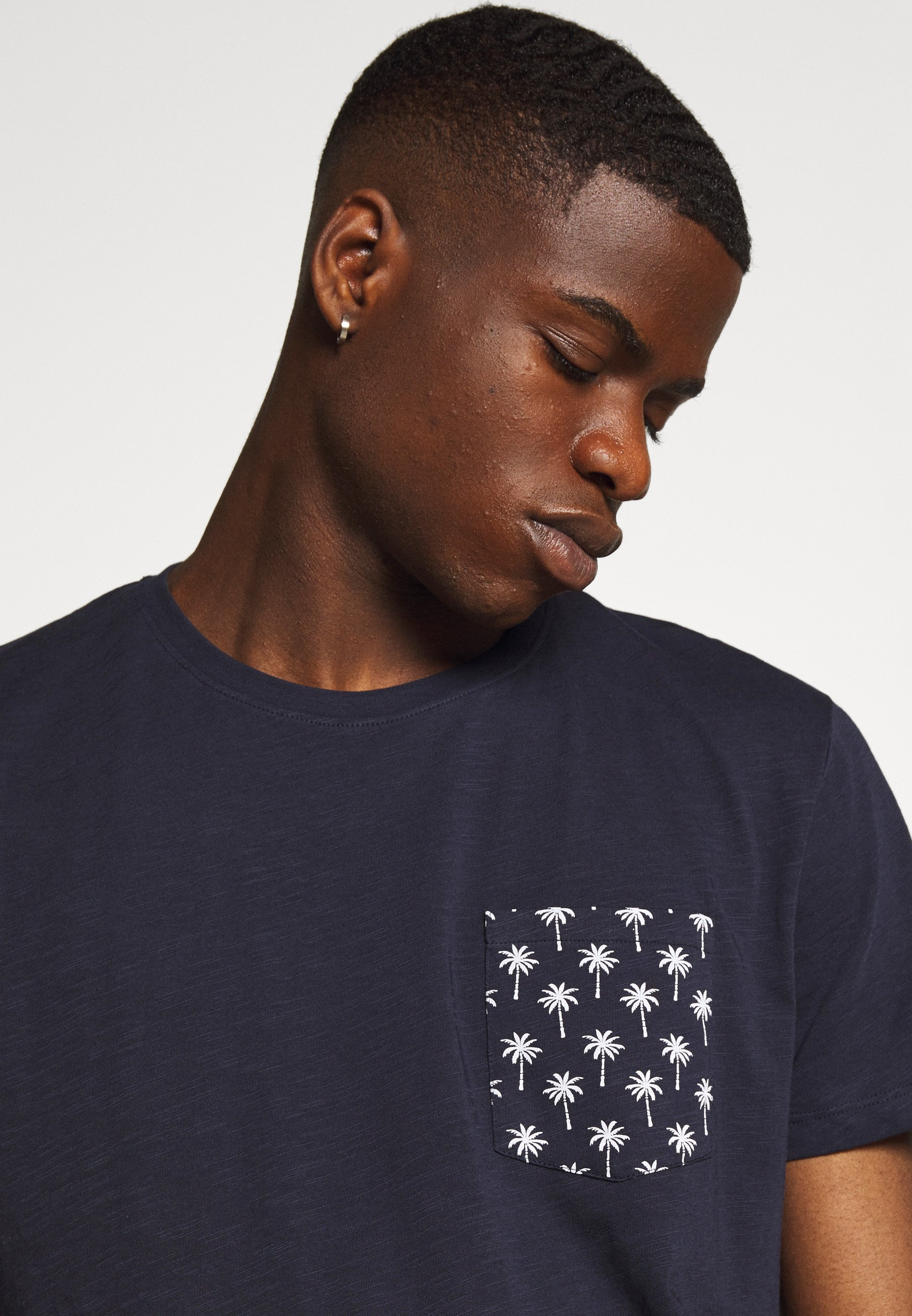 edc by Esprit Print T-shirt - navy 8WbWh