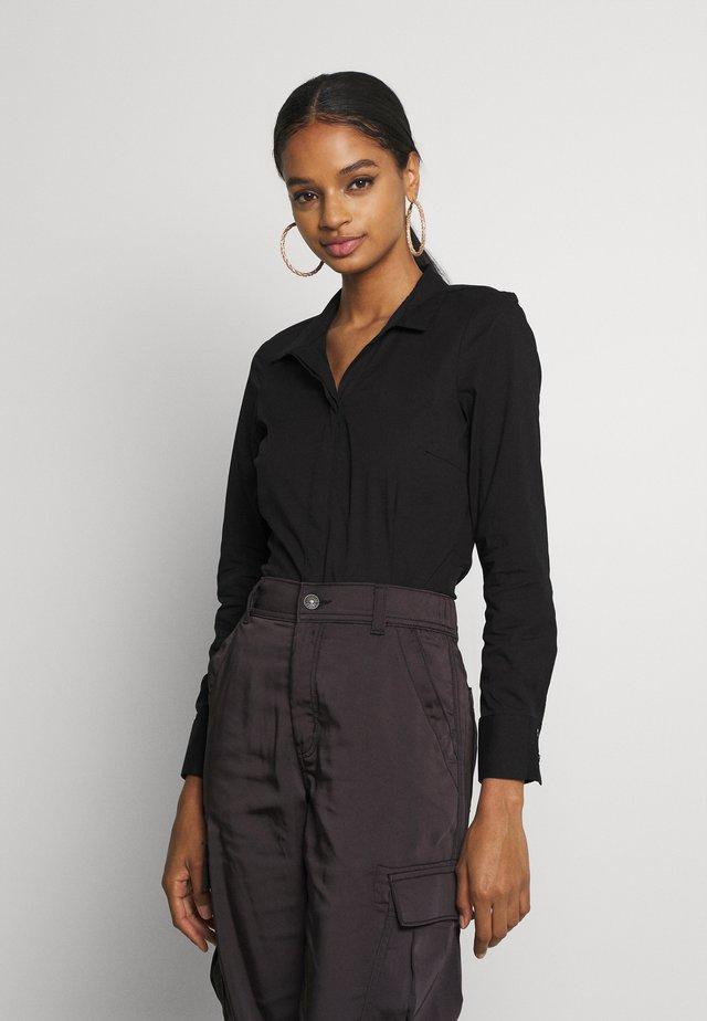 ONLSELMA BODY  - Button-down blouse - black