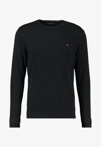C-NECK - Pullover - flag black