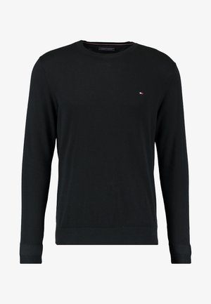 C-NECK - Strickpullover - flag black