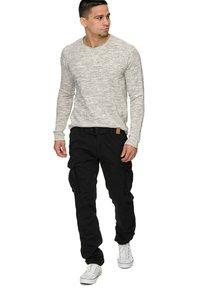INDICODE JEANS - WILLIAM - Cargo trousers - new black - 3
