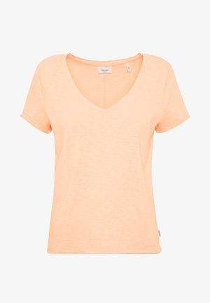 SHORT SLEEVE VNECK - T-shirt basic - rose smoke