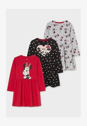 MINNIE MOUSE DISNEY PACK 3 - Day dress - black red