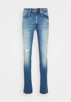CKJ 016 SKINNY - Jeans Skinny Fit - ab014 light blue dstr