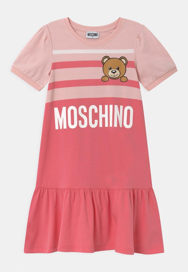 MOSCHINO - Jersey dress - sugar/camellia rose