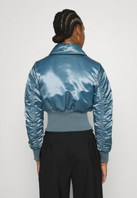 Who What Wear - JACKET - Bomber Jacket - grey blue - 2