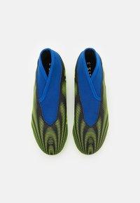 adidas Performance - NEMEZIZ .3 LL FG UNISEX - Tekonurmikengät - core black/footwear white /solar yellow - 3