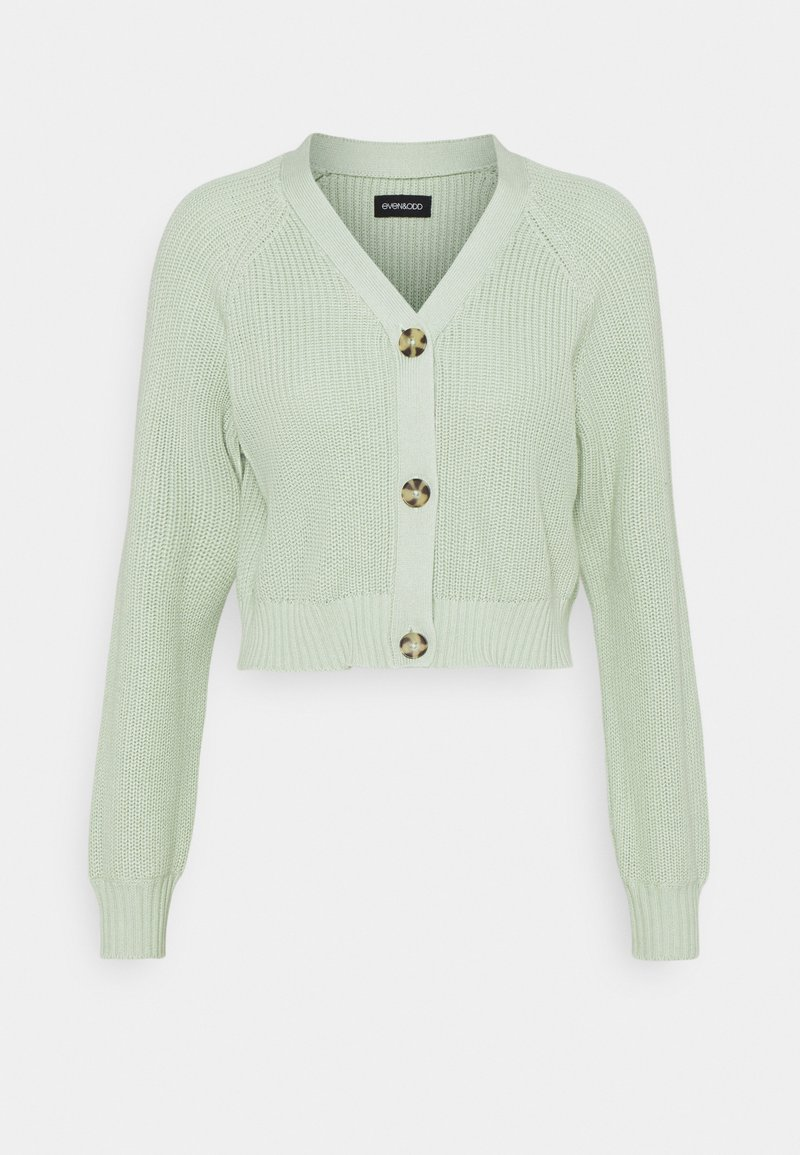 Even&Odd - CROPPED CARDIGAN - Cardigan - light green