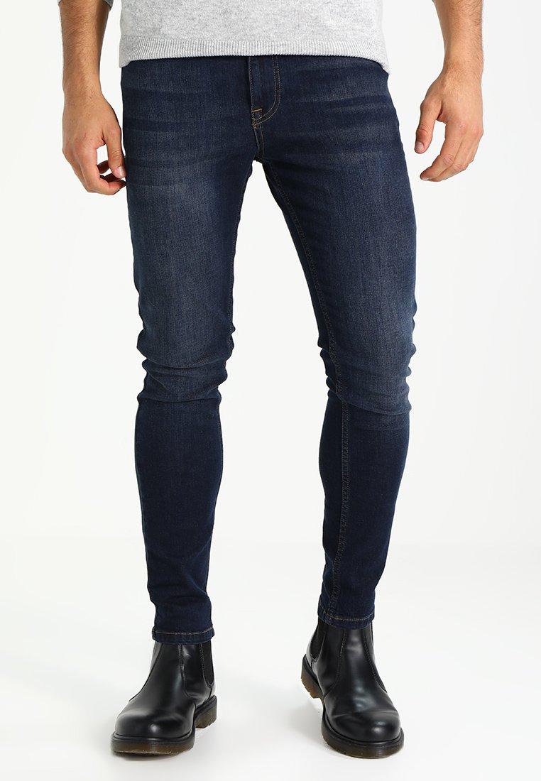 YOURTURN - Jeans Skinny Fit - dark blue denim