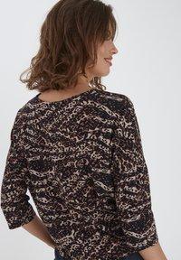 Fransa - Long sleeved top - sand animal mix - 2