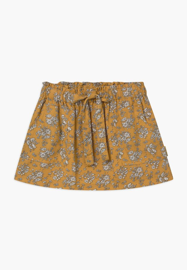 NUGGA - A-line skirt - canary